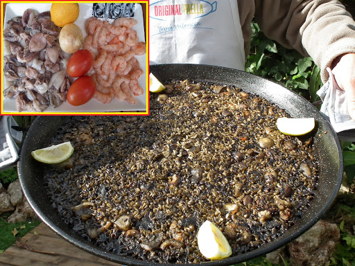 black rice paella www.originalpaella.com