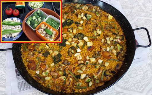 How to Make a Original Vegetable Paella recipe