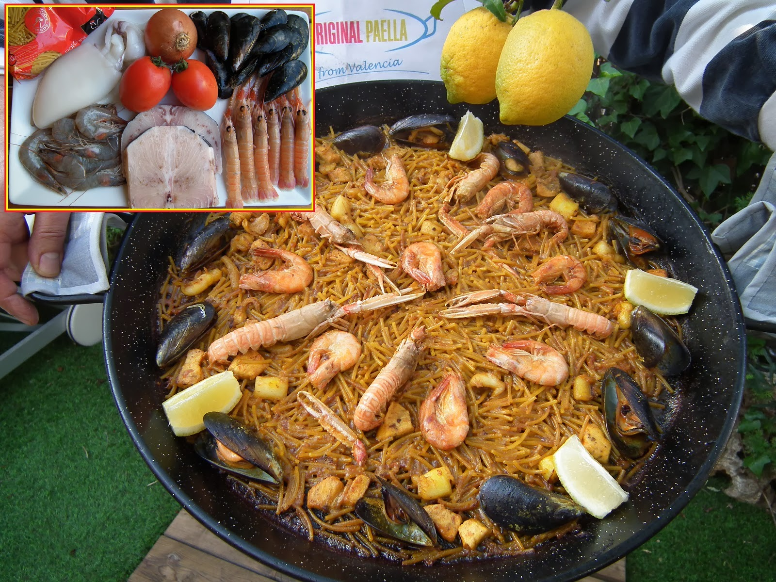 original fideua paella recipe
