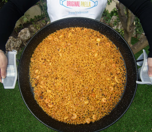How to make an original ARROZ A BANDA paella recipe from Valencia, Spain www.originalpaella.com